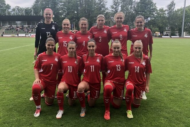Lietuvos moterų futbolo rinktinė | Organizatorių nuotr.