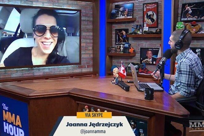 Joanna Jedrzejczyk | Youtube.com nuotr.