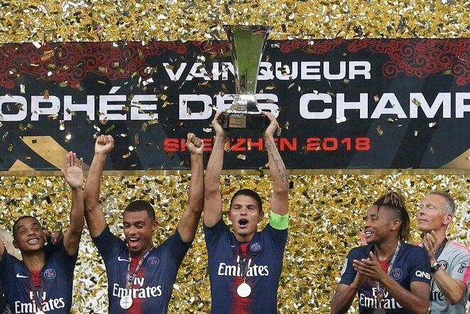 Prancūzijos Supertaurės finale triumfavo Paryžiaus PSG | Scanpix nuotr.