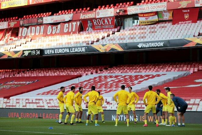 """Villarreal"" komanda   Scanpix nuotr."
