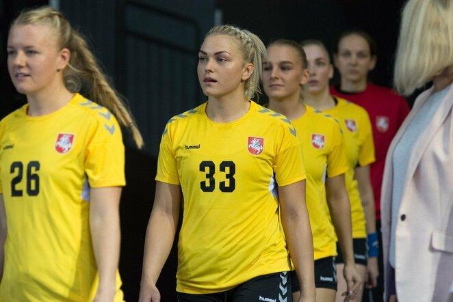 Lietuvos moterų rankinio rinktinė   rankinis.lt nuotr.