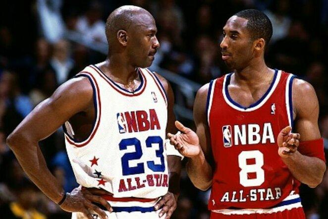 Jordanas ir Kobe | Scanpix nuotr.