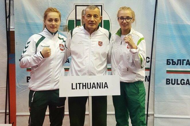 Austėja Aučiūtė ir Ana Starovoitova   Organizatorių nuotr.