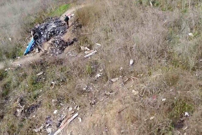 Tragiška sraigtasparnio avarija | Scanpix nuotr.