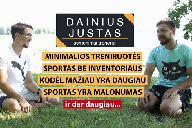 Asmeniniai treneriai Dainius ir Justas | Organizatorių nuotr.