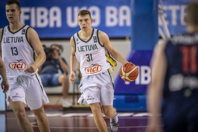 Lietuvių ir serbų rungtynės | FIBA nuotr.