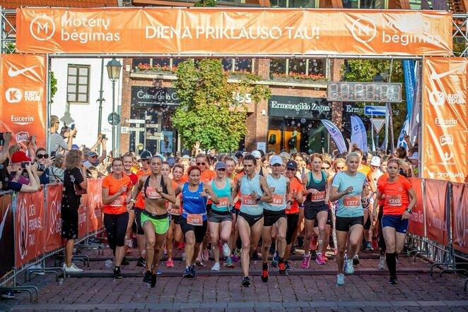 Moterų bėgimas | Augusto Didžgalvio nuotr.