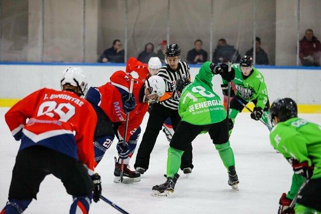 Rungtynių akimirka   hockey.lt nuotr.