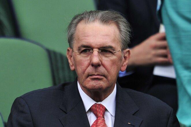 Jacquesas Rogge'as   AFP/Scanpix nuotr.