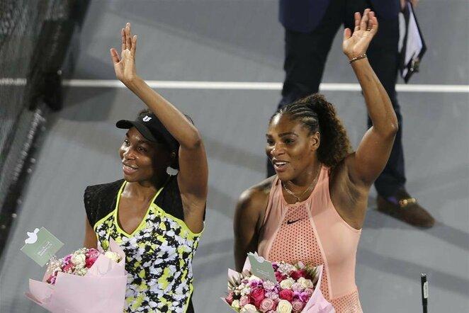 Venus Williams ir Serena Williams | Scanpix nuotr.