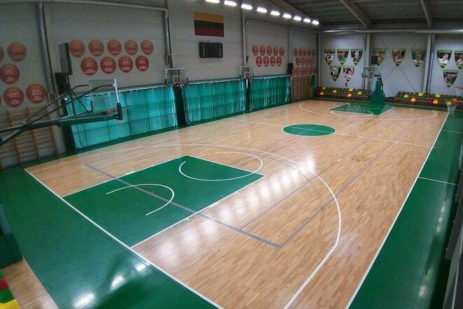 Krepšinio salė | Organizatorių nuotr.