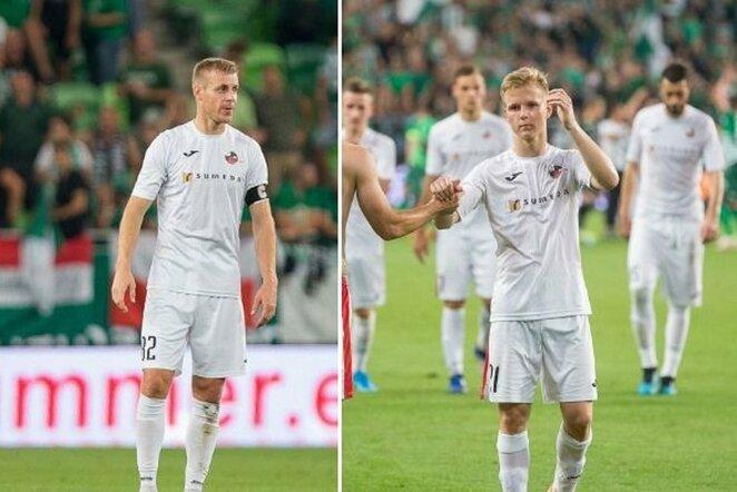 Aligis Jankauskas ir Paulius Golubickas | Sauliaus Čirbos/LFF.lt nuotr.