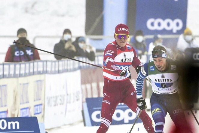 Aleksandras Bolšunovas ir Joni Maeki   Scanpix nuotr.