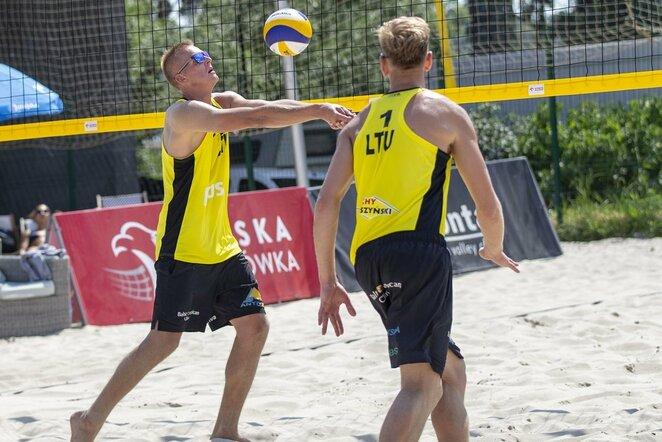 Lukas Každailis ir Arnas Rumševičius | FIVB nuotr.