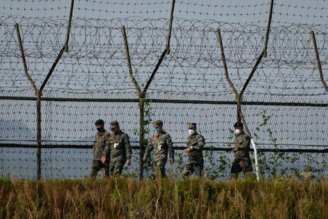 Pietų Korėjos kariai | Scanpix nuotr.