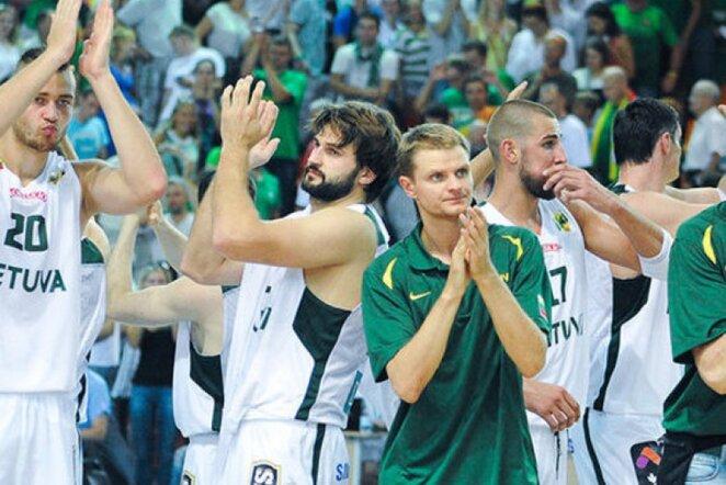 Lietuvos rinktinė laimėjo ir antrąsias rungtynes prieš belgus (Fotodiena.lt)