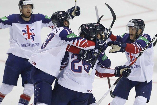 Didžiosios Britanijos ledo ritulio rinktinė   IIHF nuotr.