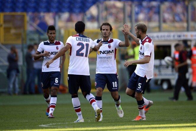 """Bologna"" komandos futbolininkai | LaPresse/Scanpix nuotr."