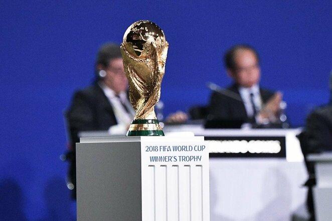 Pasaulio čempionato trofėjus   Scanpix nuotr.