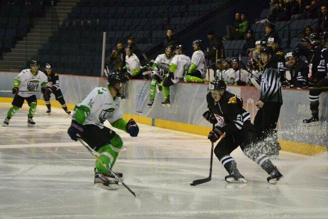 """""""Hockey Punks"""" ir """"Kaunas Hockey"""" rungtynės   Petro Lozdos nuotr."""