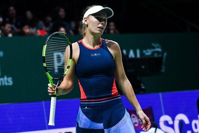 Caroline Wozniacki prieš Karoliną Pliškovą | Scanpix nuotr.