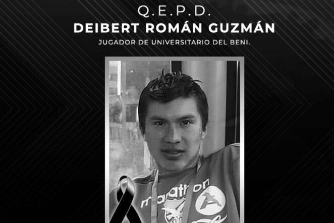 Deibertas Romanas Guzmanas | Organizatorių nuotr.