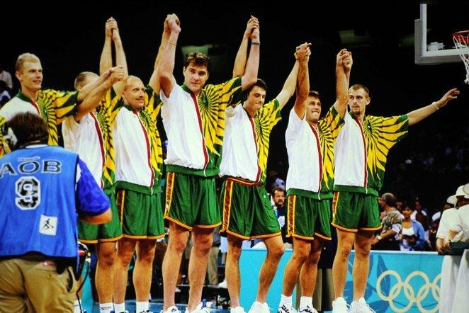 1996 m. Lietuvos krepšinio rinktinė | FIBA nuotr.