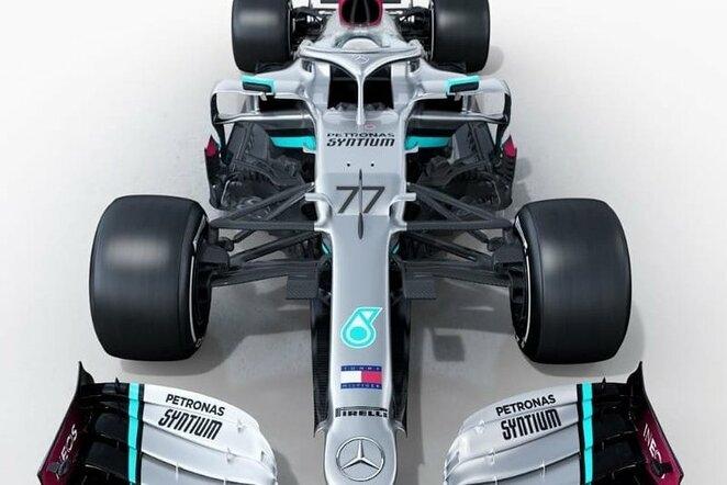 """Mercedes F1 W11 EQ Power+"" | Instagram.com nuotr"