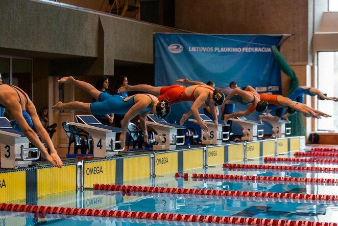 Plaukimas   Organizatorių nuotr.