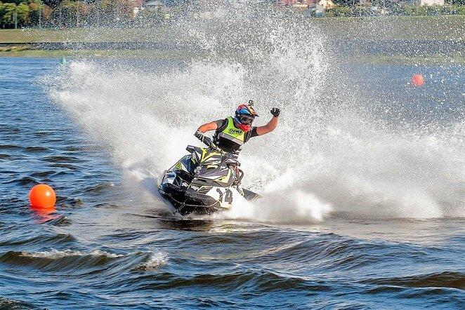 Vandens motociklų lenktynės | Organizatorių nuotr.