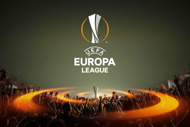 UEFA Europos lygos logo   Organizatorių nuotr.