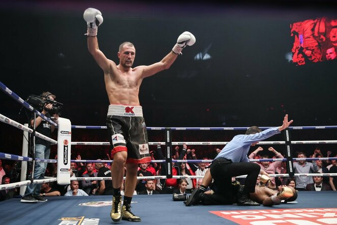 Sergejus Kovaliovas prieš Anthony Yarde'ą   Scanpix nuotr.