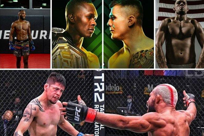 UFC 263 | Organizatorių nuotr.