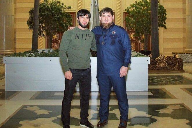 Zubaira Tuchugovas ir Ramzanas Kadyrovas | Instagram.com nuotr