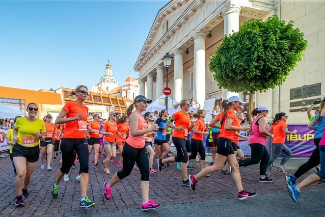 Moterų bėgimas   Augusto Didžgalvio nuotr.