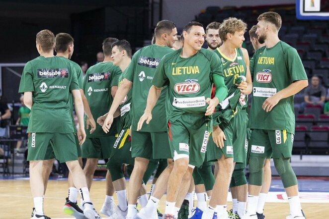 Lietuva –Suomija rungtynių akimirka   Luko Balandžio / BNS foto nuotr.