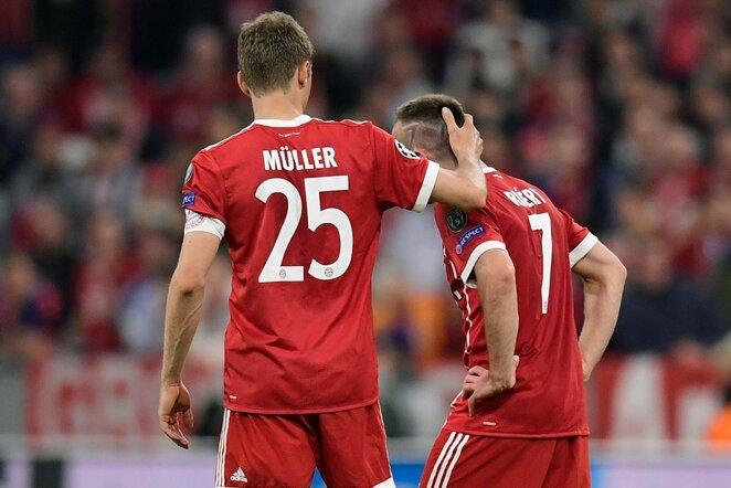 T.Mulleris ir F.Ribery | Scanpix nuotr.