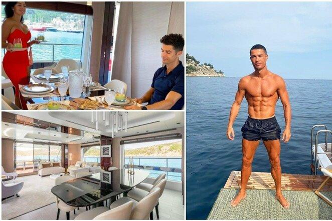 Prabangios Cristiano Ronaldo atostogos | Instagram.com nuotr
