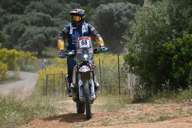 M.Siliūnas startavo Andalūzijos ralyje   Organizatorių nuotr.