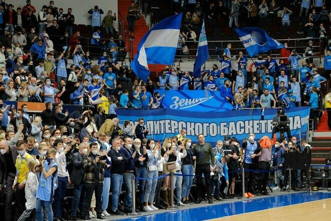 """Zenit"" sirgaliai   Euroleague nuotr."