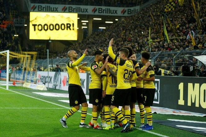"Vokietijos ""Bundesliga"": Dortmundo ""Borussia"" - ""Freiburg"" | Scanpix nuotr."