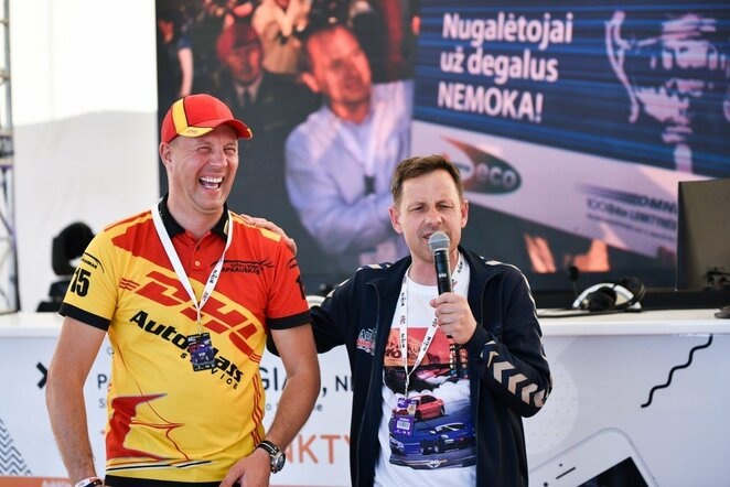 Prisiminė įstabią lenktynių 20 metų istoriją | Vytauto Pilkausko nuotr.