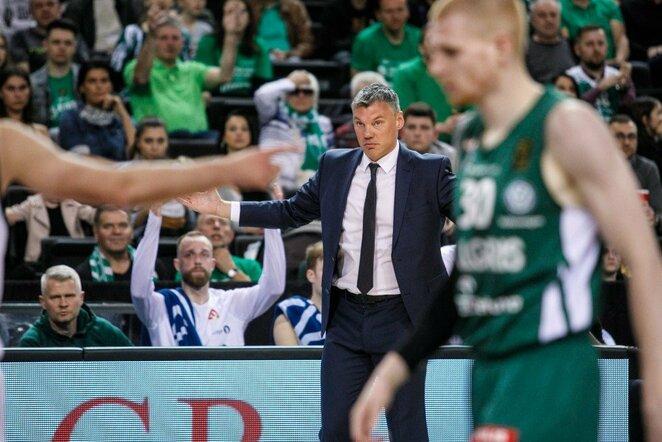 Šarūnas Jasikevičius   Eriko Ovčarenko / BNS foto nuotr.