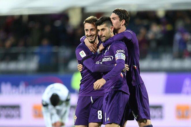 """Fiorentina""   Scanpix nuotr."