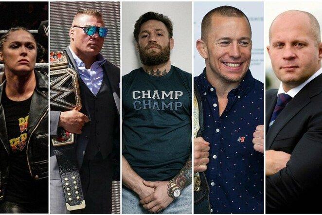 Turtingiausi MMA kovotojai   Instagram.com nuotr