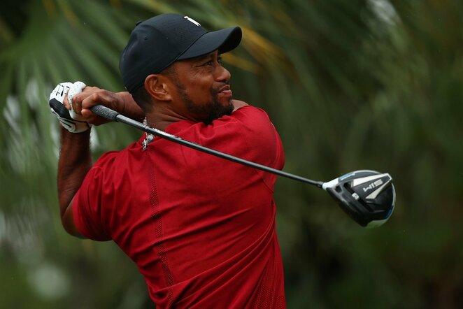 Tigeris Woodsas | Scanpix nuotr.