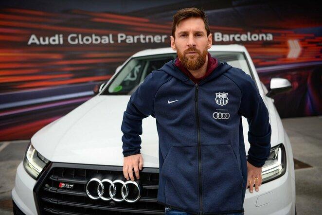"""Lionelio Messi """"Audi SQ7"""" - 143 tūkst. eurų.   Organizatorių nuotr."""