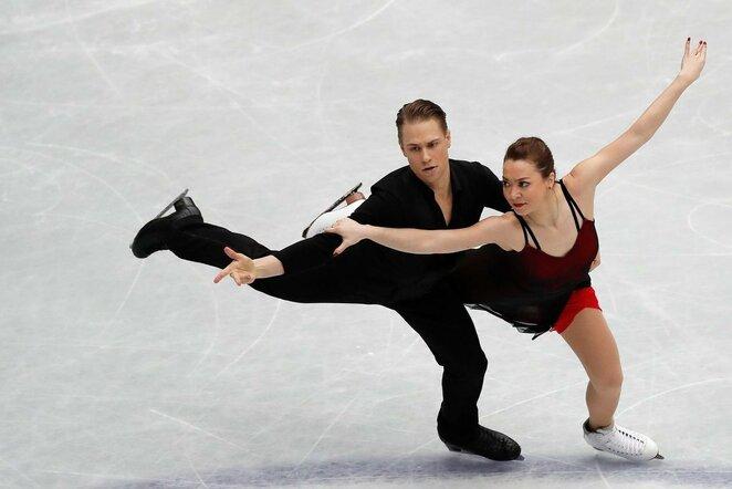 Saulius Ambrulevičius ir Allison Reed | Scanpix nuotr.