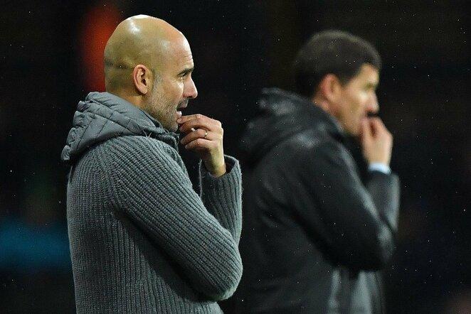 """Watford"" – ""Manchester City"" rungtynių akimirka  | Scanpix nuotr."