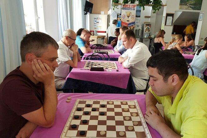 Pasaulio šaškių taurės etapas Riminyje | Organizatorių nuotr.